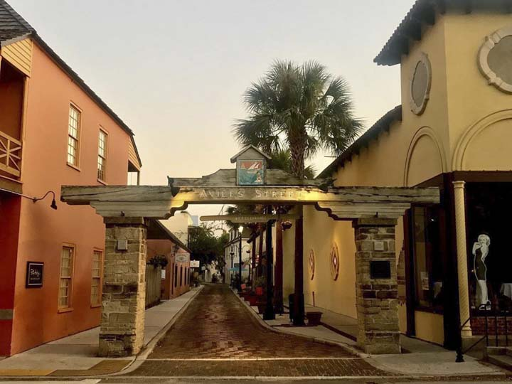 Things to do in St. Augustine Florida in 2020: Take a stroll on the oldest street in America, Aviles Street