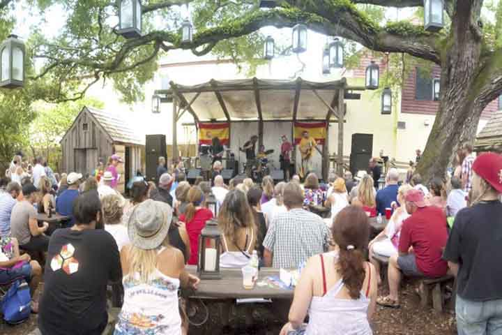 Things to do in St. Augustine Florida in 2020: Catch a free music show at Colonial Oak Music Park