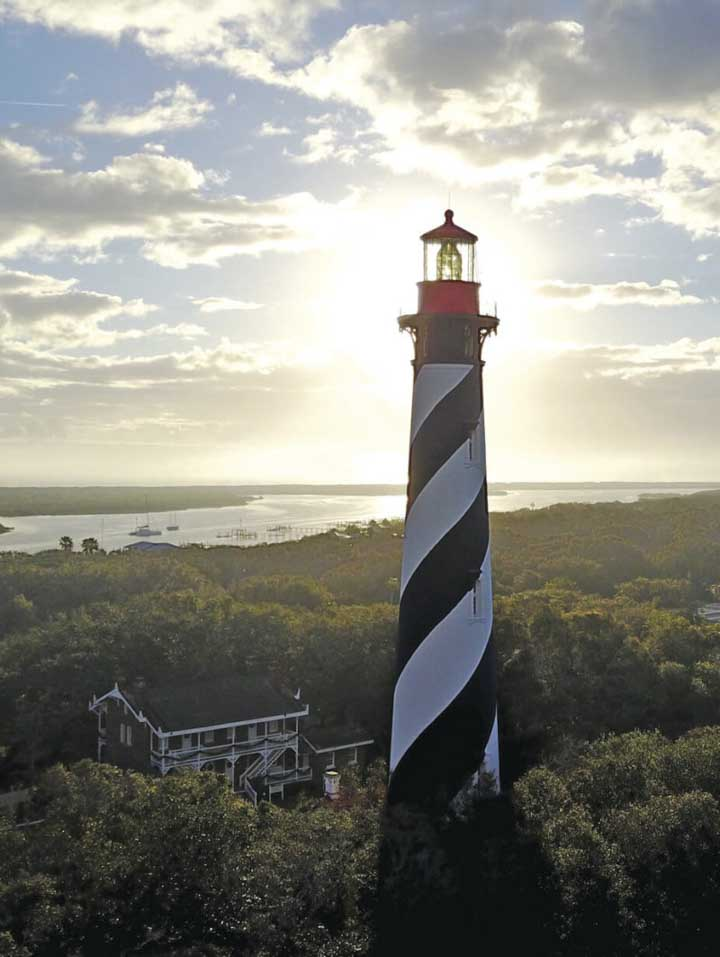 Things to do in St. Augustine Florida in 2020: climb 219 steps to the top of the St. Augustine Lighthouse