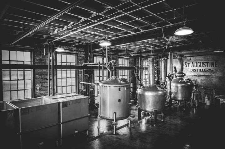 Things to do in St. Augustine Florida in 2020: sample smallbatch spirits at the St Augustine Distillery
