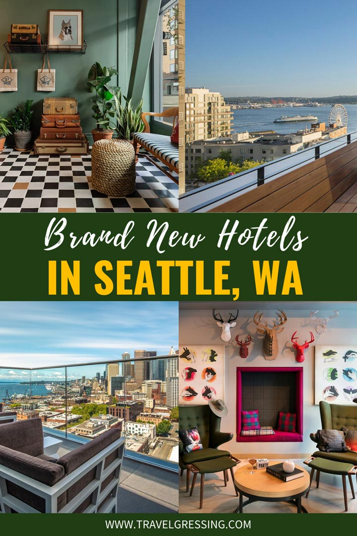 If you're looking for a place to stay while visiting Seattle, why not try a brand new hotel?  Here is a list of new hotels in Seattle which will be opening in 2020 or are newly opened between 2017 and 2019.