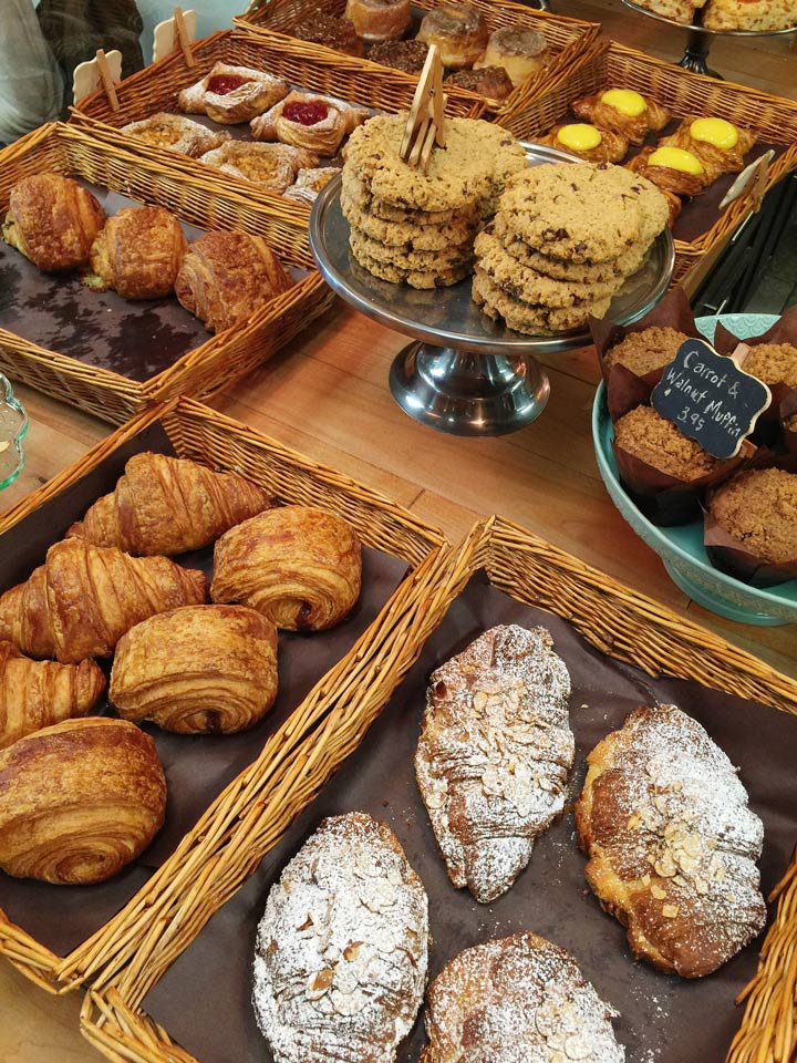 Romantic Getaway Ideas in the Fraser Valley: Baked goods at Duft & Co (Abbotsford, BC)