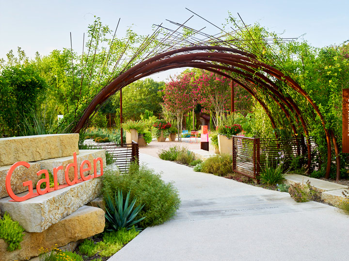 Things to do in San Antonio Texas: Follow your senses through the San Antonio Botanical Garden