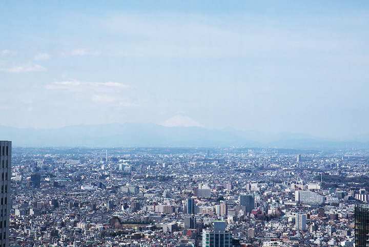 11 Best Places to View the Tokyo Skyline for Free: Shinjuku Nomura Building  (Shinjuku City)