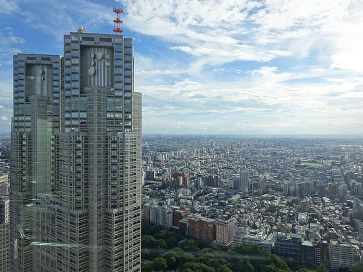 11 Best Places to View the Tokyo Skyline for Free: Shinjuku Sumitomo Building (Shinjuku City)