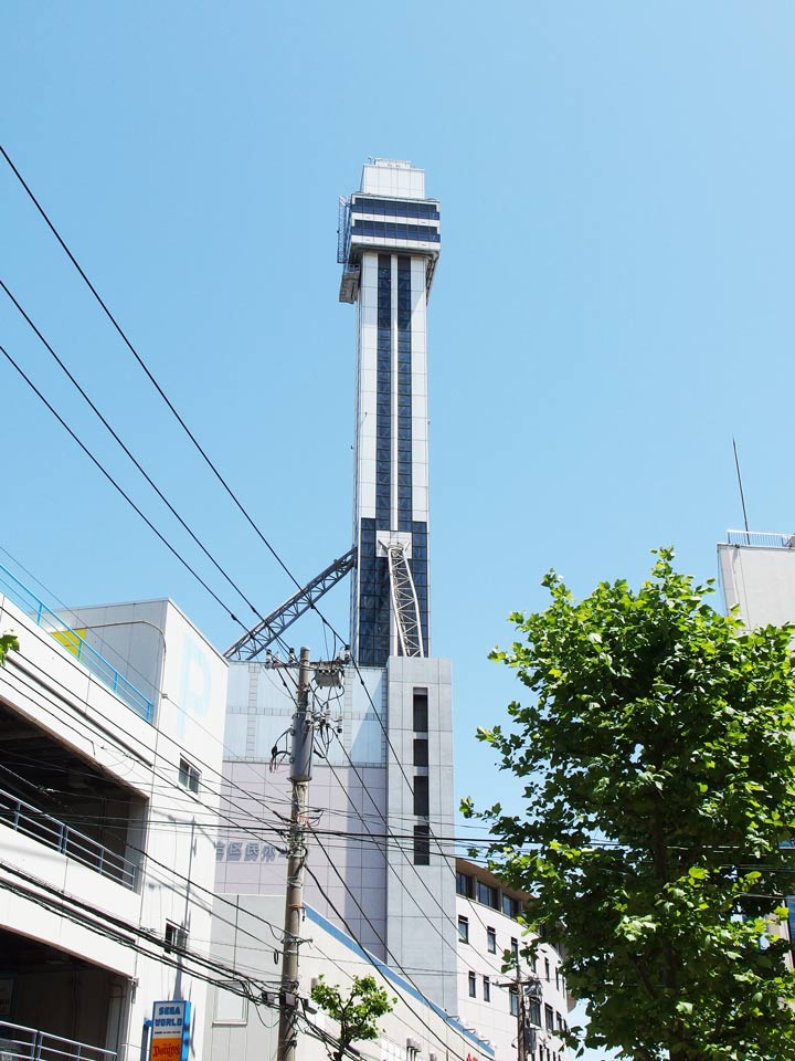 11 Best Places to View the Tokyo Skyline for Free: Tower Hall Funabori (Edogawa City)