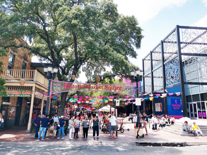 Things to do in San Antonio Texas: Enjoy the colorful sights of El Mercado (Market Square)