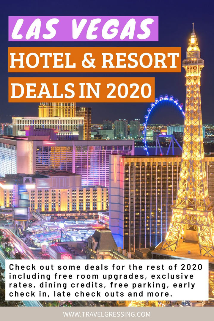 Las Vegas Hotel & Resort Deals 2020: Promo Codes, Exclusive Rates