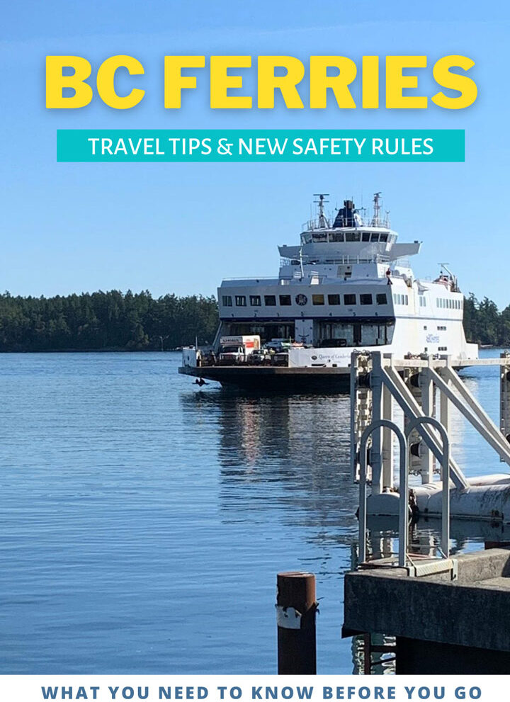 BC Ferries Travel Tips & New Rules