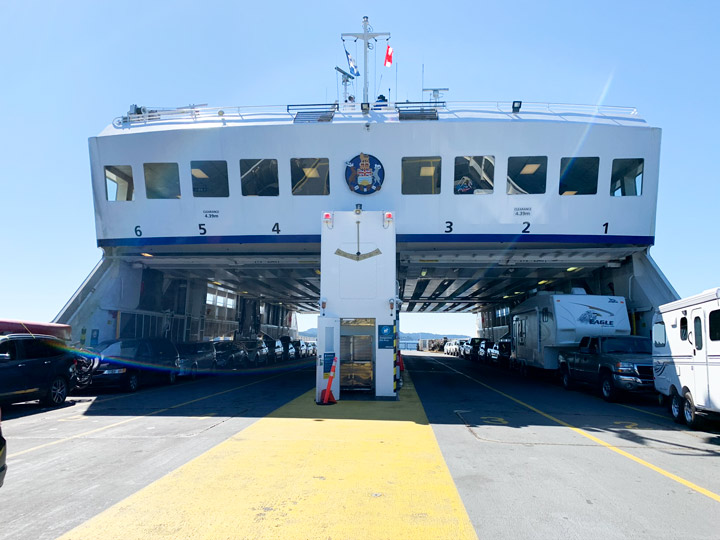BC Ferries Trip Victoria to Galiano Island: What to Expect