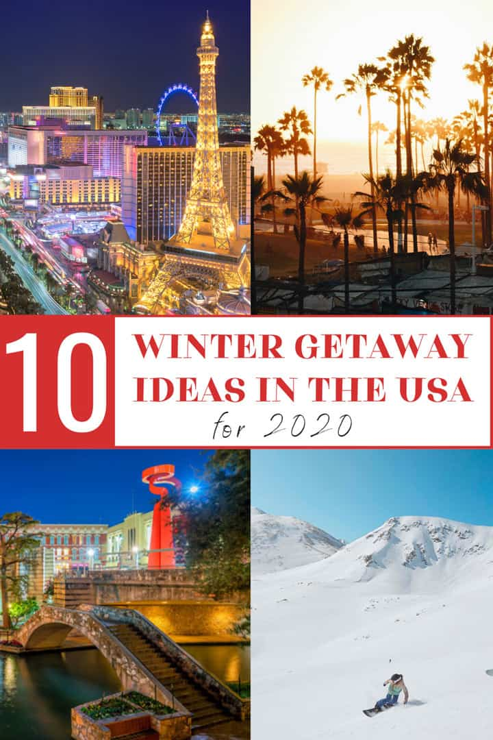 Top Winter Vacation Ideas in the USA