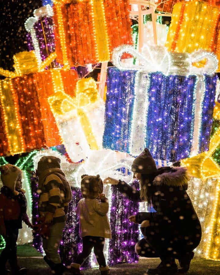 Christmas Vancouver 2020: Fun things to Do, Events, Activities, Markets Glow Gardens @ Greater Vancouver Zoo