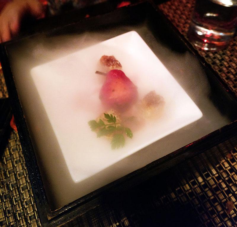 Fancy Japanese Pear Desert