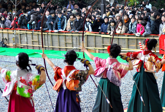 Modern Day Archery in Japan