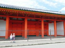 rengeoin sanjusangendo, family, family travel, japan, kyoto, asia, temple