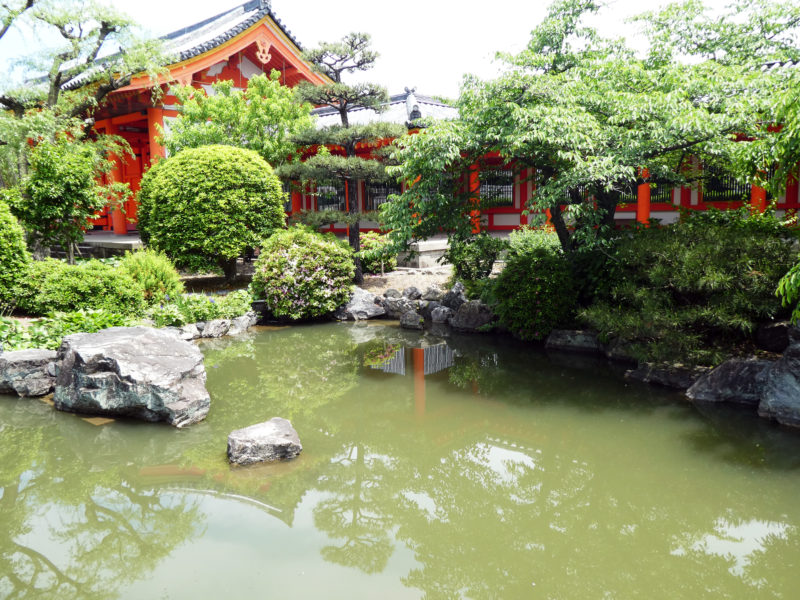 Garden of the Sanjusangendo temple