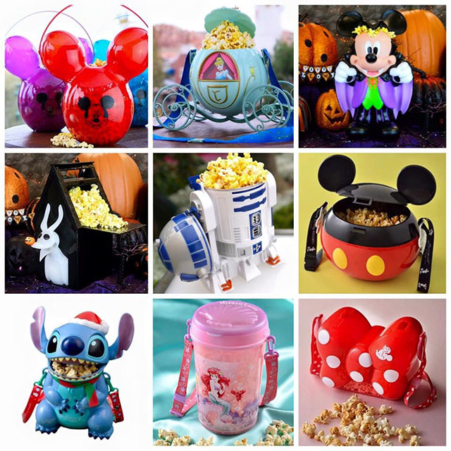 Flavored Popcorn at Disney