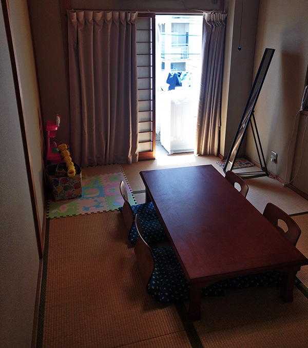 Hiroshima airbnb family room