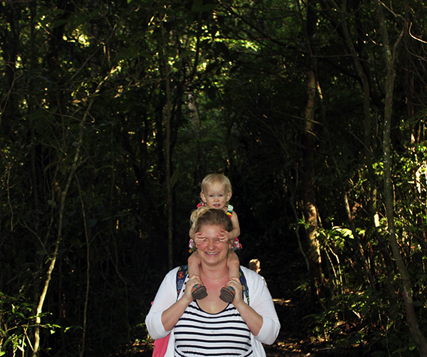 Monteverde Cloud Forest, Hiking, Hanging Bridges, Costa Rica, Central America, Waterfalls, diapersonaplane, Diapers On A Plane, Traveling with kids, Family travel