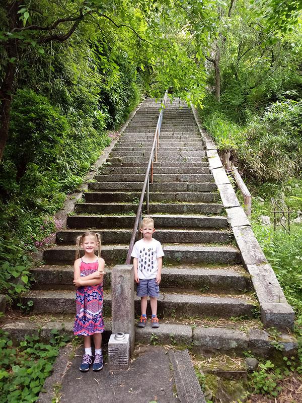 Kodaiji Zen Garden, Shrine, Big Buddha, Kyoto, Japan, Asia, Gokoku Shrine, Ryozen Graveyard, traveling with kids, family travel, diapersonaplane, Diapers On A Plane