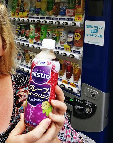 Japanese Snacks Mistio Grape Soda