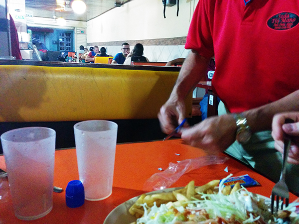 Soda Tio Mano, Costa Rica, Places to eat in Costa Rica, Mexican Food, Diapersonaplane, Diapers On A Plane, Traveling with kids, family travel
