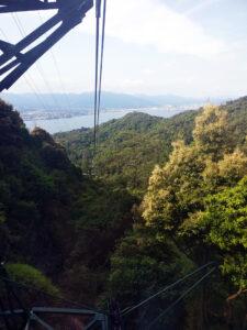 mt. Misen, miyajima, japan, hiroshima, itsukushima shrine, great otorri, traveling with kids, family travel, diapersonaplane, diapers on a plane, ferry, gondola, hiking, views