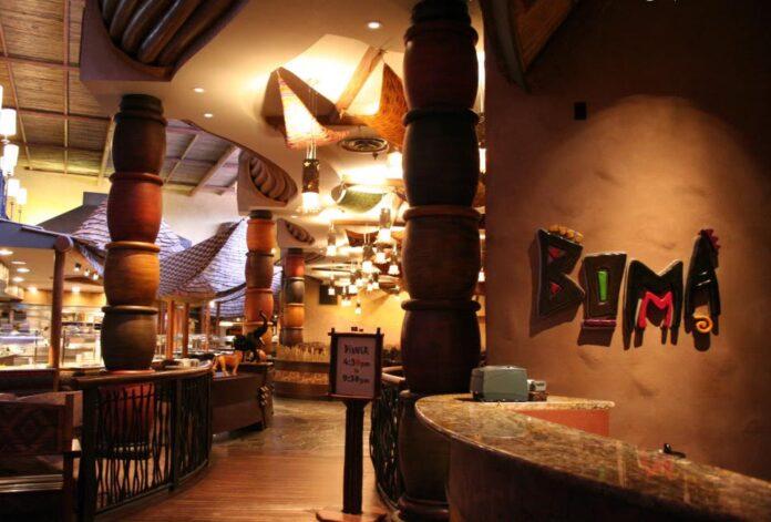 Animal Kingdom Lodge Restaurants