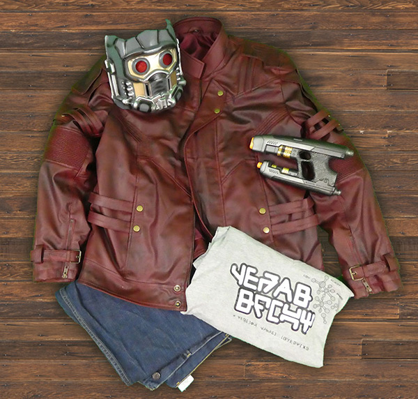 Peter Quill Costume Star Lord Jacket