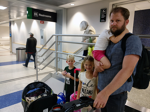 Diapersonaplane, Diapers On A Plane, creating family memories, BOS, Boston Logan, Wahlburgers, eating at BOS, restaurants, airport restaurants, airport