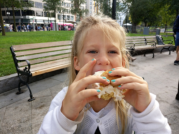 Cookie Monstah, Food Truck, Ice Cream, Cookies, Ice Cream Sandwiches, diapersonaplane, Diapers on a plane, Boston, Massachusetts, creating family memories, family travel, traveling with kids