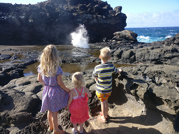 Maui, Hawaii, OGG, Hiking, Ocean, 2017 Year in Review, diapersonaplane, diapers on a plane, creating family memories, family travel, traveling with kids