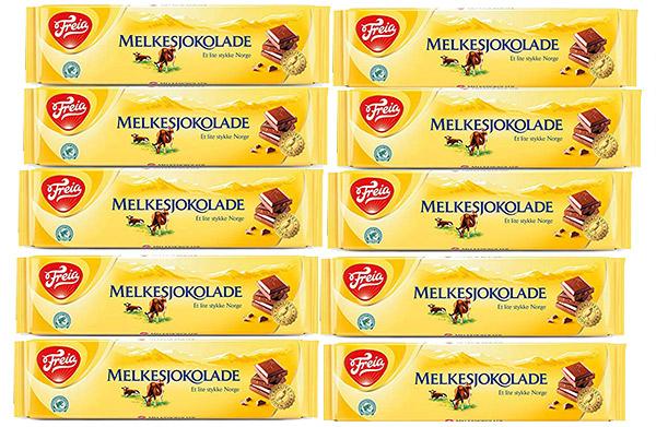 Melkesjokolade Norway Chocolate