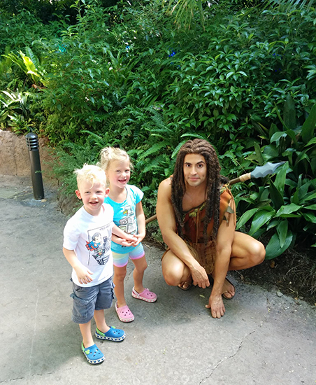 Disney's Animal Kingdom, Walt Disney World, Disney, Disney World, Diapersonaplane, diapers on a plane, family travel, traveling with kids, creating family memories, Tarzan, petting zoo, lion king, tree of life,