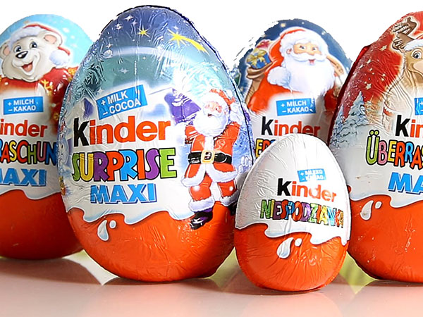 best snacks in norway: Kinder Egg