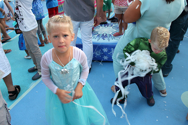 Disappointed Child on Disney Cruise