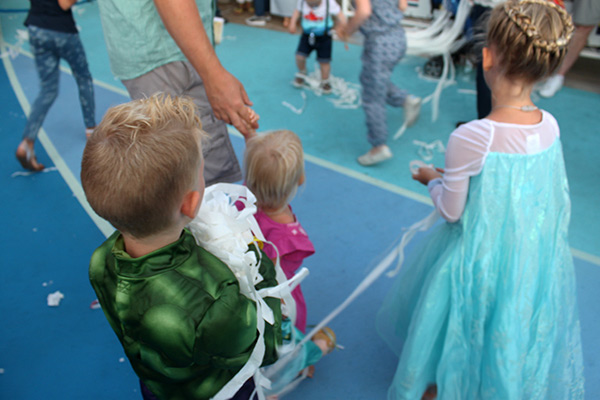 Frozen Deck Party Disney Cruise