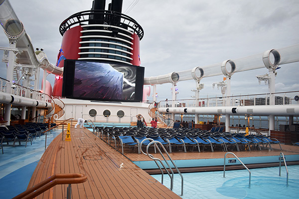 Disney Cruise Pools: AquaDuck