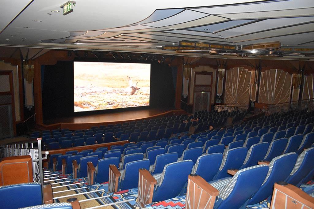 Buena Vista Theater with Disney Cruise Movies