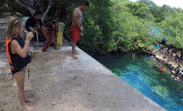 Cenote Cristalino, Mexico, Cenote, Riviera Maya, Yucatan Peninsula, Traveling with kids, family travel, creating family memories