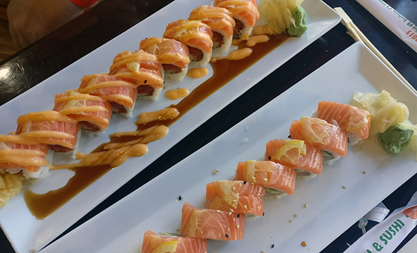Year in Review, family travel, traveling with kids, creating family memories, sushi in anaheim california, orange roll and sushi