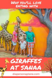 Why You'll Love Eating with Giraffes at Sanaa [Disney Review]