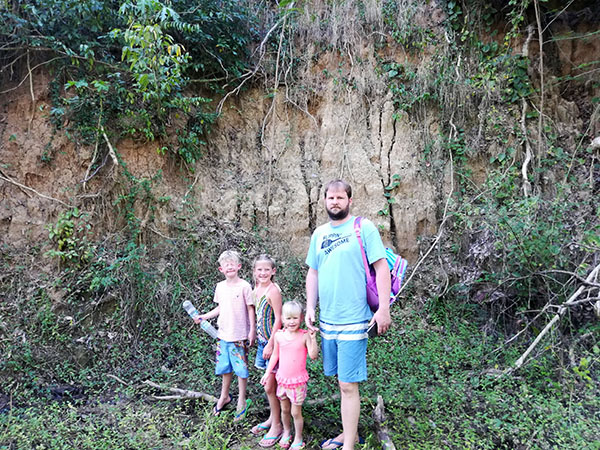 Hiking to Black Sand Beach in Puerto Rico