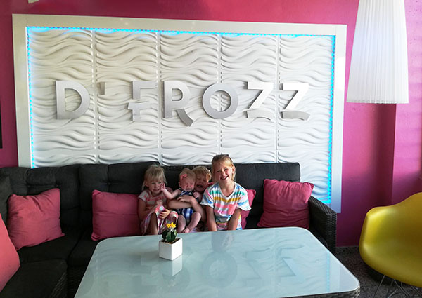 D'frozz, only ice cream in vieques, puerto rico, ice cream on the island of vieques, traveling with kids, family travel