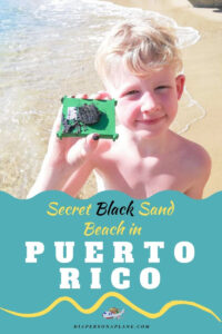 How to Find the Most Irresistible Secret Black Sand Beach in Puerto Rico