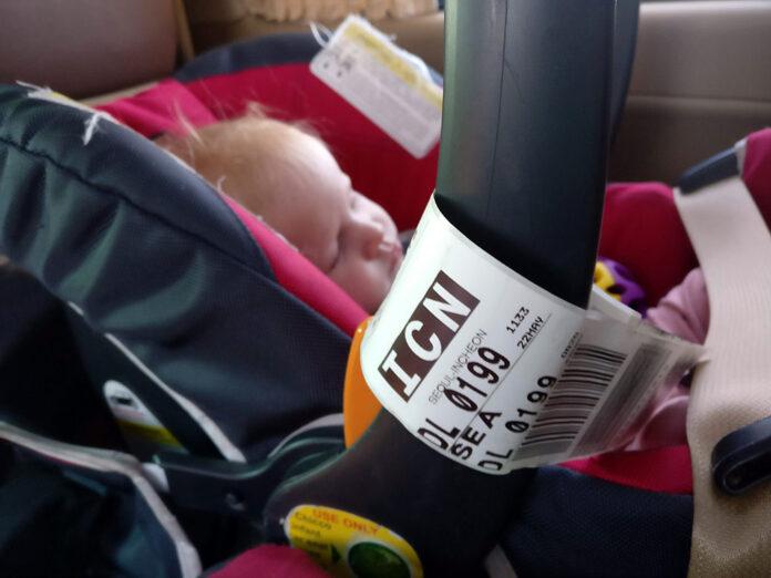 Baby's First International Flight