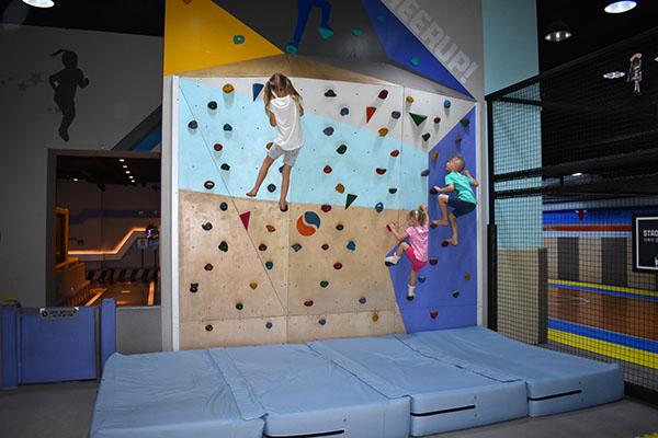 Champion Sports Kids Play Area in Korea at Triple Street in Incheon