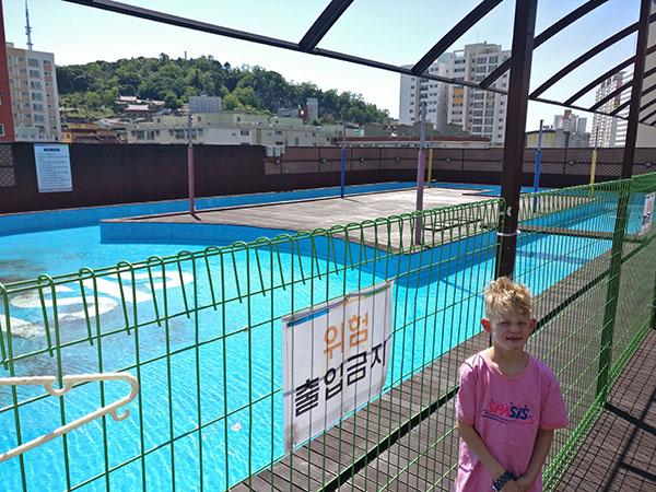 Spasis Rooftop Pool Korea