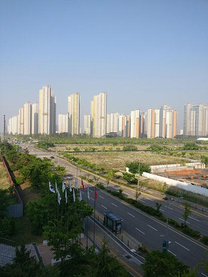View of Seoul, South Korea
