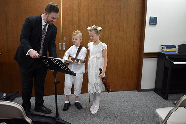 Twins Baptism Day Duet